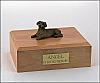 Dachshund, Red Dog Figurine Cremation Urn