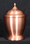 Copper Tegan Cremation Urn