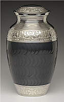 Nickel Plated Charcoal Cremation Urn