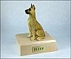 Great Dane, Fawn Dog Figurine Cremation Urn
