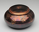 Milano Raku Paws Pet Cremation Urn - Large