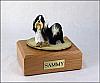 Shih Tzu Standing Dog Figurine Cremation Urn