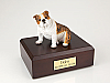 Bulldog  Brindle ears Down Sitting Dog Figurine Cremation Urn