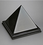 Nero Absoluto Pyramid Adult Cremation Urn