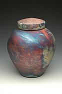 Ethereal Raku Cremation Urn