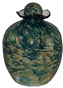 Art Glass Adult Cremation Urn