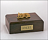 Chihuahua, Tan Dog Figurine Cremation Urn