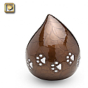 Lovedrop Pet Urn Bronze