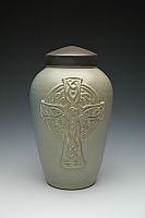 Celtic Cross Cremation Urn