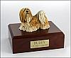 Lhasa Apso Standing Dog Figurine Cremation Urn