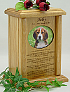Oval Photo Rainbow Bridge Pet Urn