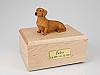 Dachshund, Red/Brown Dog Figurine Cremation Urn