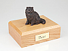 Persian, Bronze Cat Figurine Cremation Urn