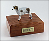 Borzoi Standing Dog Figurine Cremation Urn