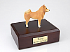 Finnish Spitz Standing Dog Figurine Cremation Urn