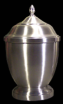 Small Pewter Jacinta Cremation Urn