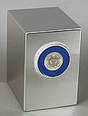 Satin Finish Stainless Steel Coast Guard Cremation Urn