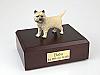 Cairn Terrier  Standing  Dog Figurine Cremation Urn