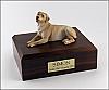 Labrador, Golden Laying Dog Figurine Cremation Urn