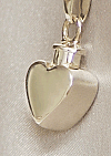 Heart Cremation Urn Keepsake