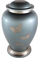Butterfly Brass Cremation Urn