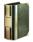 Bronze Bar II Book Urn Cremation Urn
