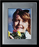 Large Silver Rectangle Photo Frame