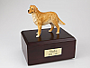 Golden Retriever Standing Dog Figurine Cremation Urn