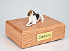 American Foxhound  Dog Figurine Cremation Urn