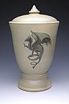 Gothic Dragon Cremation Urn