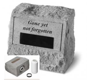 Pet Memorial Stone Cremation Urn Personalized