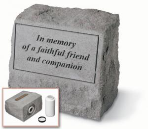 Headstone Cremation Urn and Marker