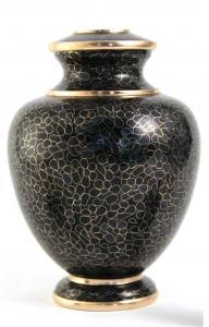 Slate Essence Cloisonne Cremation Urn