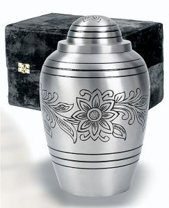 Pewter Bouquet Cremation Urn