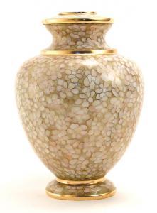 Opal Essence Cloisonne Cremation Urn