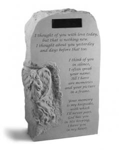 Loving Thoughts Memorial Personalized