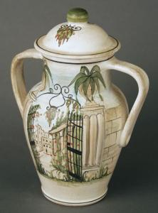 Gateway Porcelain Cremation Urn