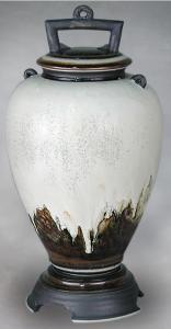 Lava Porcelain Cremation Urn