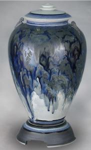 Celeste Porcelain Cremation Urn