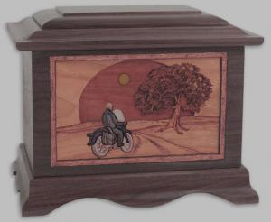 Heartland Motorcycle Cremation Urn