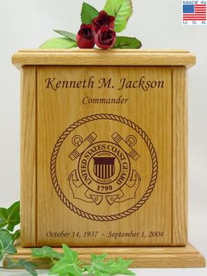 US Coast Guard Cremation Urn