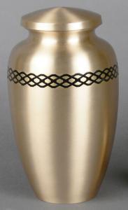 Empress Brass Cremation Urn