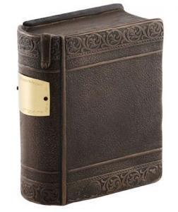 Bronze Closed Book Cremation Urn