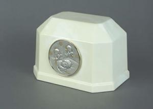 Angelic Child Cultured Marble Cremation Urn
