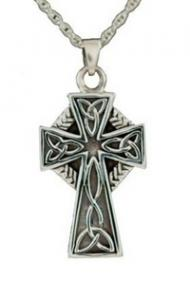 Celtic cross jewelry pendant Cremation Urn