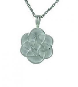 Celtic flower pendant Cremation Urn