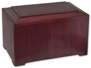 Simplicity Rosewood Cremation Urn