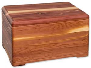 Fragrant Cedar Wood Cremation Urn