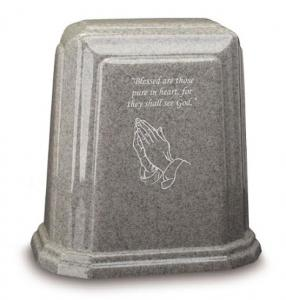 Tablet Millennium Cultured Granite Cremation Urn