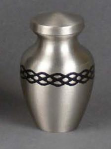Classica Solid Brass Keepsake Cremation Urn